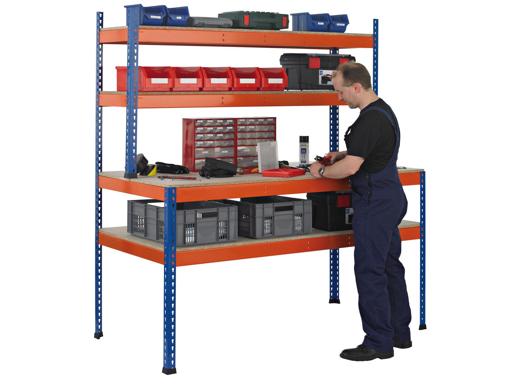 Werkstattbedarf, Z1-Werkbänke, Werkbänke als Arbeitstisch oder mit ...